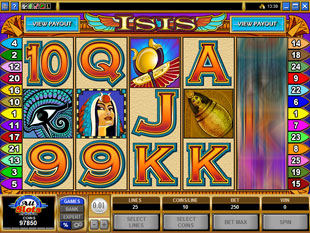 Isis slot game online review