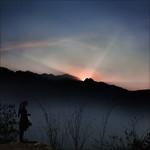 Sunset over Fansipan…