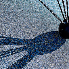 m-4833 Global Projection with Strings Attached (tengtan (catching up)) Tags: art ball globe shadows geometry shapes surface projection sphere installation strings abstraction ropes chiaroscuro dappled teng lightandshade auselite rubberised tengtan