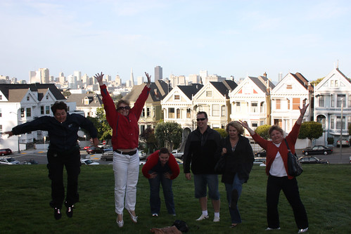 Jumping Ladies (and Mat) of San Francisco
