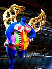 Angelo custode di Niki de St. Phalle (kika13) Tags: travel zurich viaggio zurigo lowcost viaggiare whynotzurich zurigolowcost zurigoturismo