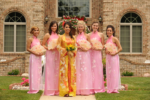 DonThao's bridal party