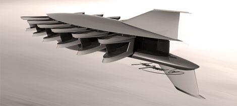 Solar-powered sea limousine.............(flyingapartments.jpg)
