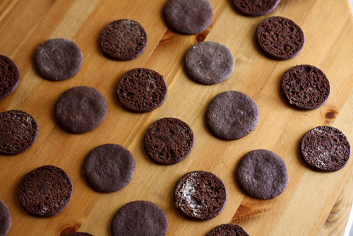 Chocolate Espresso Sandwich Cookies