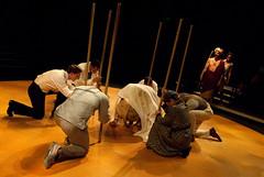 Caliban, Prospero, Miranda, Company