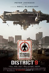 DISTRICT 9 (2009) ****1/2 movie review by COOP