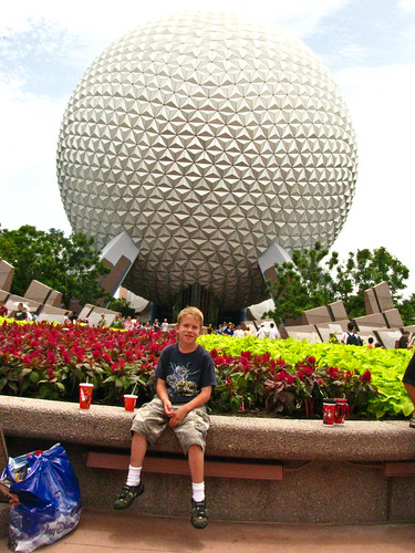 Harry at Epcot