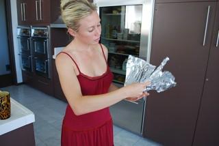 I started folding (Janine, Green Girl guru and founder of Green Wave)