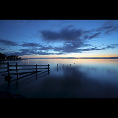 the length of our days. (kvdl) Tags: longexposure summer dusk britishcolumbia august surrey explore crescentbeach frontpage 5050 gloaming mudbay blackiespit canonef1740mmf40lusm kvdl