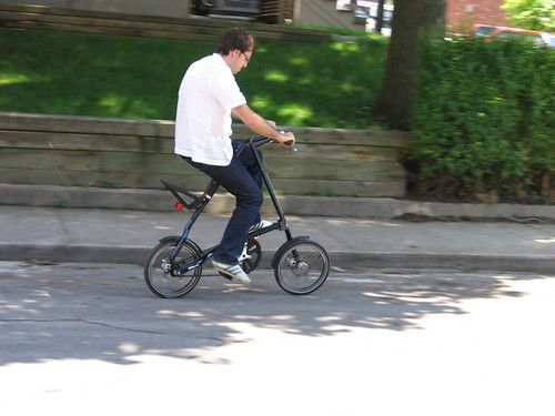 Strida at speed