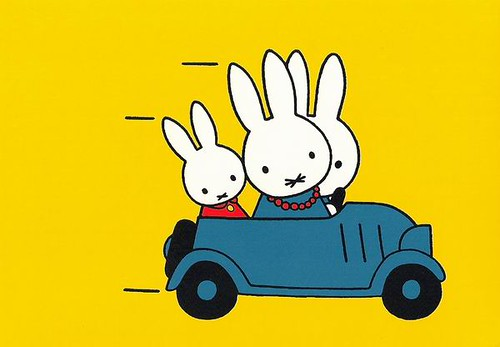 Miffy's Family in the car / Ilaria