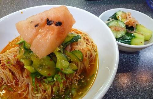 Watermelon noodles