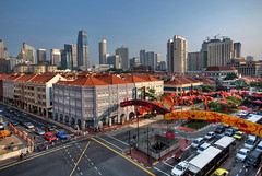 Chinatown Singapore (williamcho) Tags: food heritage architecture buildings shopping singapore chinatown chinese restaurants cbd bargains hotel81 newbridgeroad