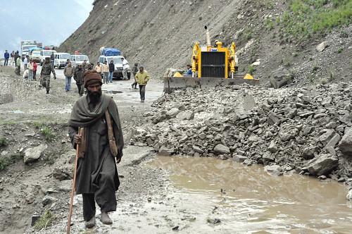 Rockslide #2: Srinigar - Leh Highway