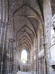 Holyrood Abbey, Edinburgh (LadyGisburne) Tags: uk abbey scotland edinburgh capital ruin medieval monastery cloister holyroodpalace holyroodabbey augustinian platinumheartaward ladygisburne