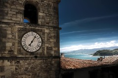 The Clock Tower (Zaragozano) Tags: interestingness interesting photos favorites asturias breathtaking photostream lastres platinumheartaward goldstarawardgoldmedalwinner flickrestrellas breathtakinggoldaward dragondaggerphoto luislacorte platinumpeaceaward breathtakinghalloffame