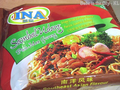 Ina Sambal Udang Pan Mee Goreng - packaging