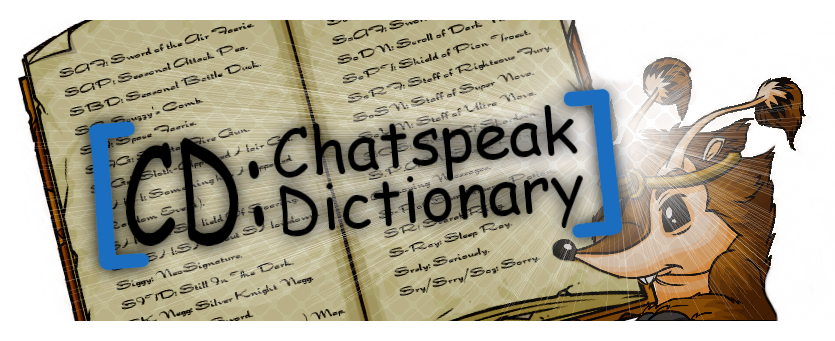 Chatspeakdictionary Header