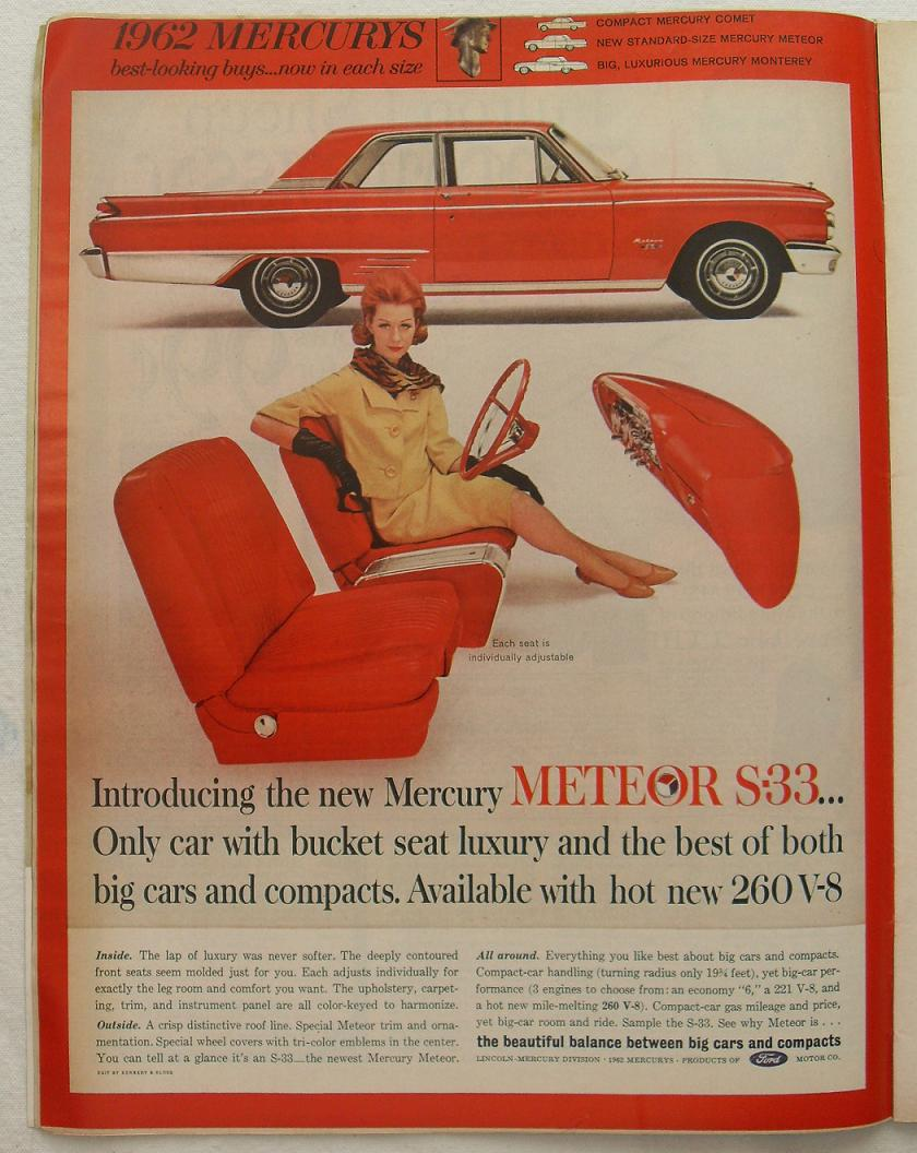 1962 Ford Mercury Meteor Ad