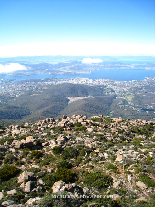 mount wellington hobart view