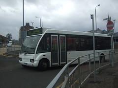 Scottish Travel Optare Solo SH51MHU Greenock 25/09/09 (David_92) Tags: travel ex greenock glasgow scottish first solo optare sh51 mhu sh51mhu