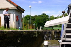 France Bourgogne Le Lorraine 49 (Lucky B) Tags: france pniche barge bougogne