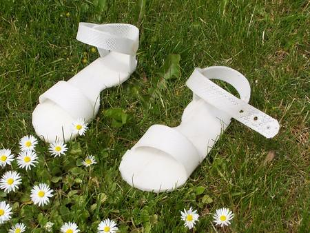 Shoes made by RepRap 3D Printer