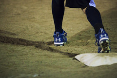 UA (AlleNormous) Tags: under softball runner armour base ua cleats longsocks firstbase