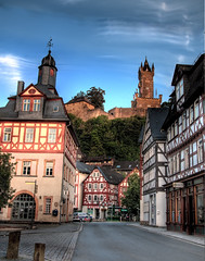 Dillenburg in the Evening