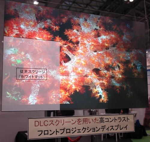 High contrust DLC screen