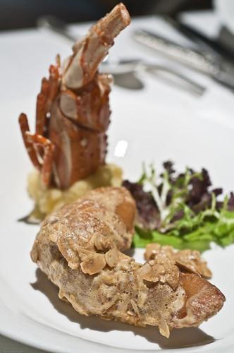 Lobster in Salted Egg Yolk