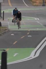 Bikeway through the Rose Quarter-201
