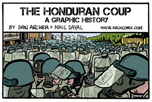 A graphic history of the 2009 Honduran Coup