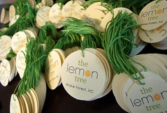 the lemon tree - hang tags