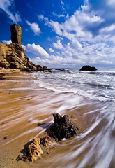 Great Bay Temple (Muchilu) Tags: sea water stone xpro nikon juan d sigma tur ibiza zelda es eivissa jordi 1020 90 roca cala ocarina cokin d90 serapio figueral muchilu muchilujuanfcoturriera thelegentofzelda jordiserapio