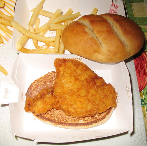 How many calories are in a chicken sandwich in a chicken for Calories in a mcdonald s fish sandwich