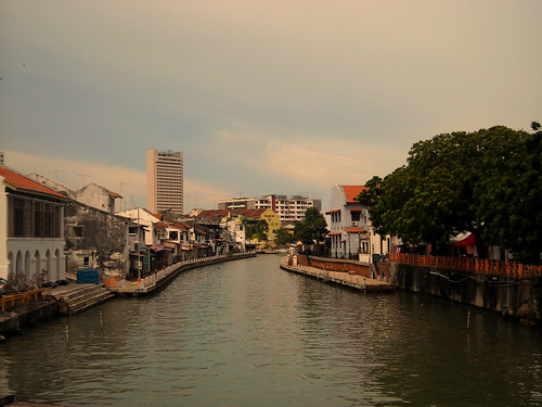 the river in melaka