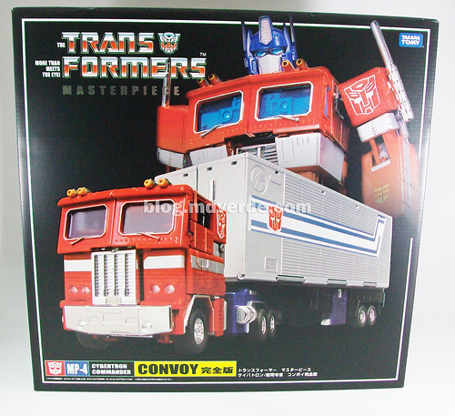 Transformers Optimus Prime Masterpiece MP-4 - modo