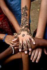 Henna. Bangladesh