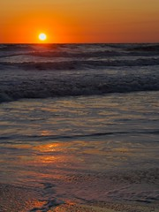 Sun and Surf (semprebon) Tags: ocean morning beach water sunrise dawn nc waves northcarolina shore outerbanks corolla naturesfinest absolutelystunningscapes