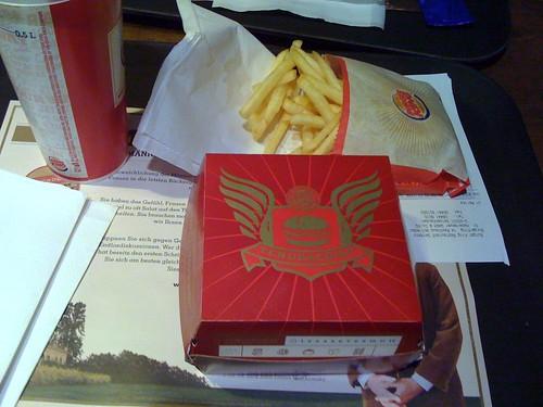 Burger King Tendercrisp - Verpackung