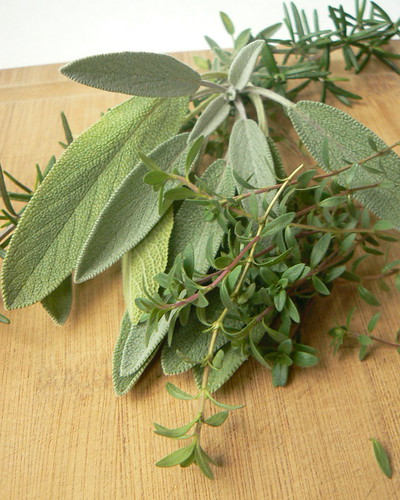 Sage, Rosemary, Thyme