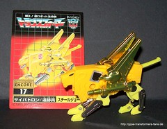 Steeljaw Transformers Generation 1 Encore no17 17 Cassette's Big Mission Volume 2 set 017