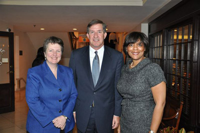 Deputy Secretary Kathleen Merrigan, the South Carolina Agriculture Commissioner Hugh Weathers,  Vernita F. Dore, State Director USDA, Rural Development at the 2009 Agribusiness Summit.