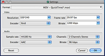 how to change audio sample rate in imovie