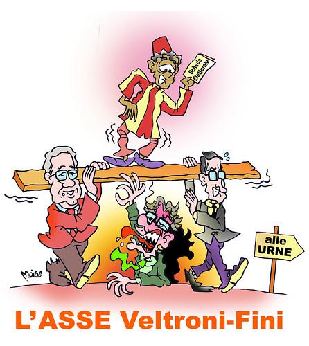 L'Asse Veltroni-Fini