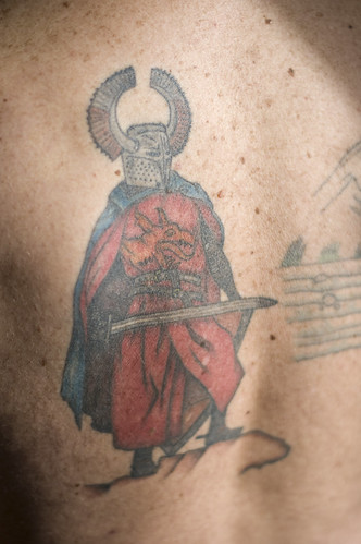 John's Knight Tattoo