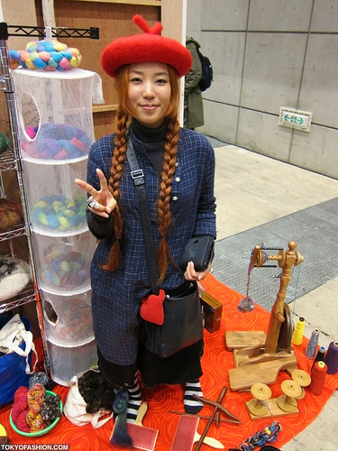 Cutest Japanese Hat Girl