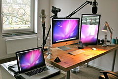 imac setup macbookpro iphone3gs