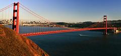 Golden Gate Bridge (Shannon Cayze) Tags: sanfrancisco california sunset canon rebel goldengatebridge bayarea sausalito canonef2470mmf28lusm marinheadlands 2470mm xti rebelxti canonrebelxti cayze conzelmanrd shannoncayze